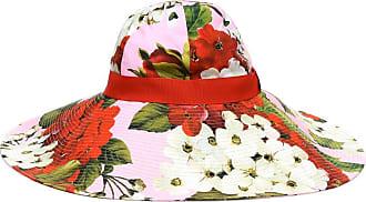Dolce & Gabbana Cappello a stampa floreale in cotone