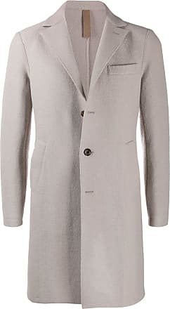 Eleventy single-breasted fitted coat - Neutro