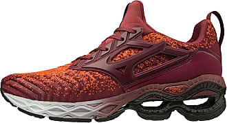 Mizuno Mens Creation WAVEKNIT 2 Running Shoe, Tang Tango-Tawny Port, 10.5 UK