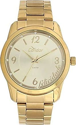 Condor Relógio Condor Feminino Fashion Co2035kuo/4d - Dourado