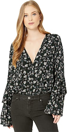 Free People Free People Shes Dainty Bodysuit Black Combo SM (Womens 4-6)