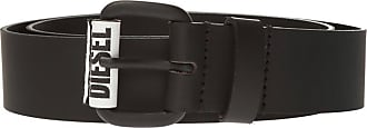 Diesel Belt With Logo Mens Black