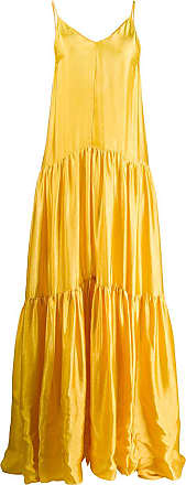 Forte_Forte tiered maxi dress - Yellow