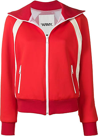 Yves Salomon - Army Zip sports jacket - Red