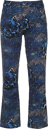 À La Garçonne Night cropped trousers - Blue