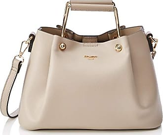 cbcf3789e Dune London Darlow, Bolsos totes Mujer, Marrón (Taupe-Synthetic), 32x18x25