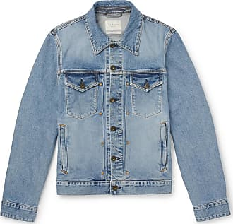 Rag & Bone Definitive Slim-fit Denim Jacket - Blue