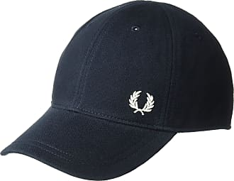Fred Perry Mens Pique Classic Cap, Navy, One Size