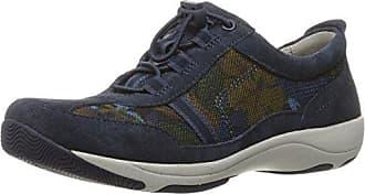 Dansko Womens Helen Fashion Sneaker, Blue Print Suede, 36 EU/5.5-6 M US
