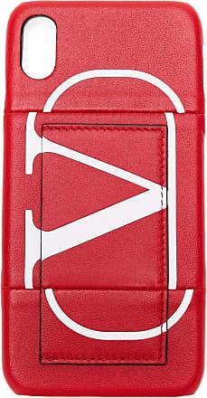 Valentino Garavani Capa para celular de couro - Vermelho