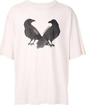 À La Garçonne T-shirt oversized Birds 2 À La Garçonne + Hering - Rosa