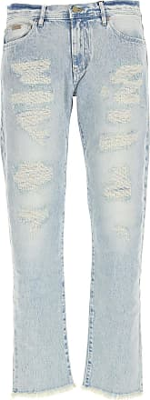 A|X Armani Exchange Jeans, Bluejeans, Denim Jeans für Herren Günstig im Outlet Sale, Hellblaue Jeans, Baumwolle, 2019, 46 47 48