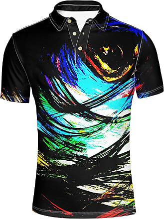 Hugs Idea Graffiti Mens Fashion Jersey Sport Shirt Summer Hipster Short Sleeve Tee