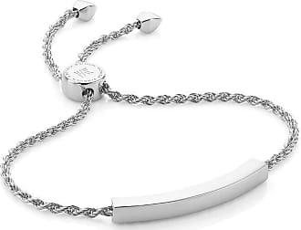 Monica Vinader Linear Chain bracelet - SILVER