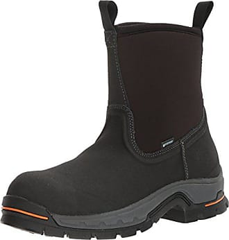 Timberland Mens Stockdale Pull-On Alloy Toe Waterproof Industrial & Construction Shoe, Black, 11.5 M US
