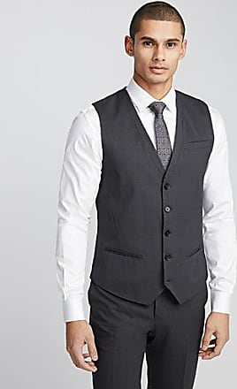 Le 31 Italian Marzotto wool vest Stockholm fit - Slim