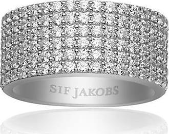 Sif Jakobs Jewellery Ring Corte Cinque mit weißen Zirkonia