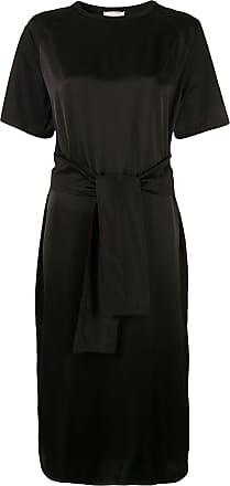 Nina Ricci Vestido com amarração na cintura - Preto