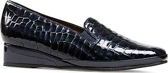 Van Dal Womens Rochester II Midnight Croc/Midnight Wedges 8.5 UK