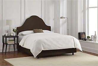 Skyline Furniture Arched Velvet Upholstered Bed Apple Green Velvet, Size: Queen - 582BEDVAPLGRN