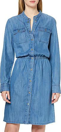 Marc O'Polo Womens 002912526009 Dress, Blue (Tencel Wash 024), XS