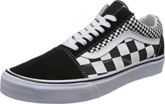 b951614d14 Vans Unisex-Erwachsene Old Skool Sneaker Schwarz (Mix Checker) 36 EU