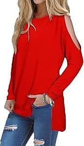 3 Colors Kensie Mixed Slub Rib Cold Shoulder Tunic Sweater Various Sizes