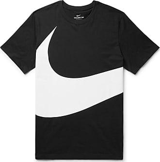 d42e3f08fb03 Nike Sportswear Logo-print Cotton-jersey T-shirt - Black