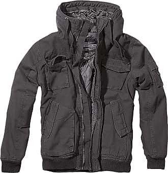 Brandit Bronx Men Winter Jacket Black L, 100% Cotton, Regular