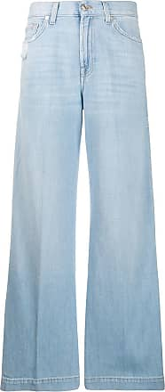 7 For All Mankind high waist flare jeans - Blue