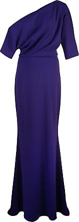 Badgley Mischka one shoulder gown - Purple