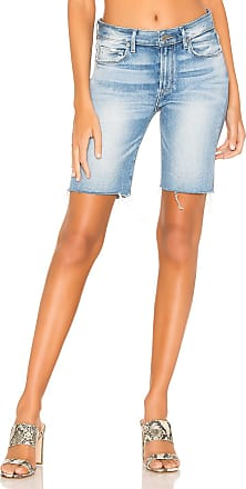 Paige Jax Cut Off Short in Kaysan Distressed
