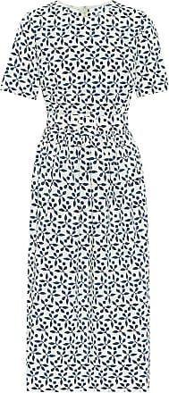 Oscar De La Renta Exclusive to Mytheresa - Printed stretch-cotton midi dress