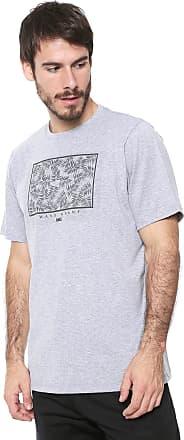 Wave Giant Camiseta WG Draw Cinza