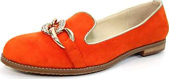 Lunar Splendid Chain Link Loafer 6 UK Orange