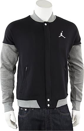 Nike Jordan Nike Mens Air Varsity Jacket Black/Grey