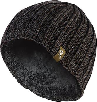 Heat Holders Mens Heatweaver Thermal Beanie Hat One Size (Khaki Green)