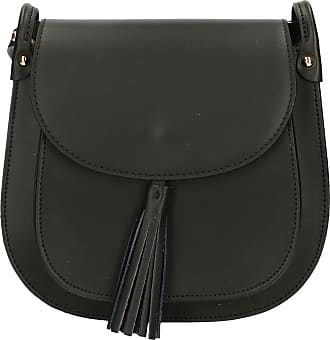 Chicca Borse Aren - Womans Shoulder Bag in Genuine Leather Made in Italy - 23x21x7 Cm