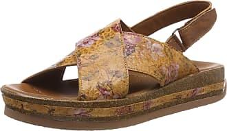 Think Womens Zega_484386 Sling Back Sandals, (Rum/Kombi 54), 5 UK