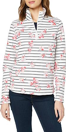 Joules Womens Fairdale Print Sweatshirt, Multicolour (Cream Floral Gryflorstr), 8 (Size:8)