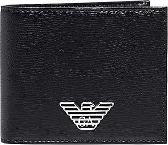Emporio Armani Plaque Billfold Black One Size