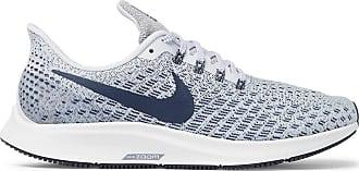 Nike Air Zoom Pegasus 35 Mesh Running Sneakers - Light gray