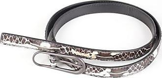 Bottega Veneta Ayes Skin Skinny Belt 1.5 CM size 85