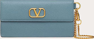 Valentino Garavani Valentino Garavani Vlogo Signature Grainy Calfskin Bill Pouch With Chain Handle Women Amadeus Calfskin OneSize