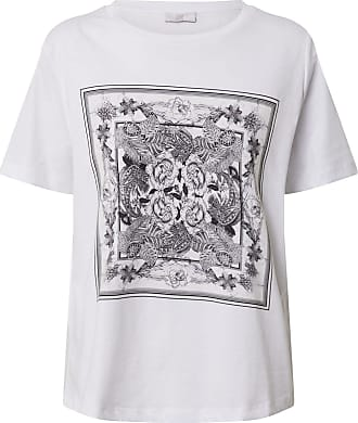 Riani T-shirt blanc / gris chiné / anthracite