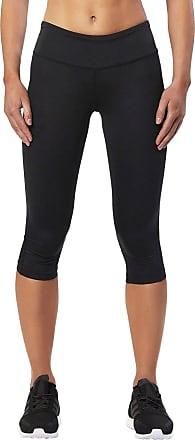 2XU Mid Rise Capri Compression Womens Running Tights - XX Small Black