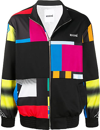 Koché colour-block bomber jacket - Preto