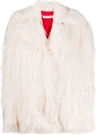 Philosophy di Lorenzo Serafini faux fur jacket - White