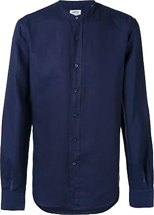 Aspesi Camisa de linho - Azul