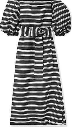 520dc7376c Lisa Marie Fernandez Rosie Off-the-shoulder Striped Satin-twill Maxi Dress -